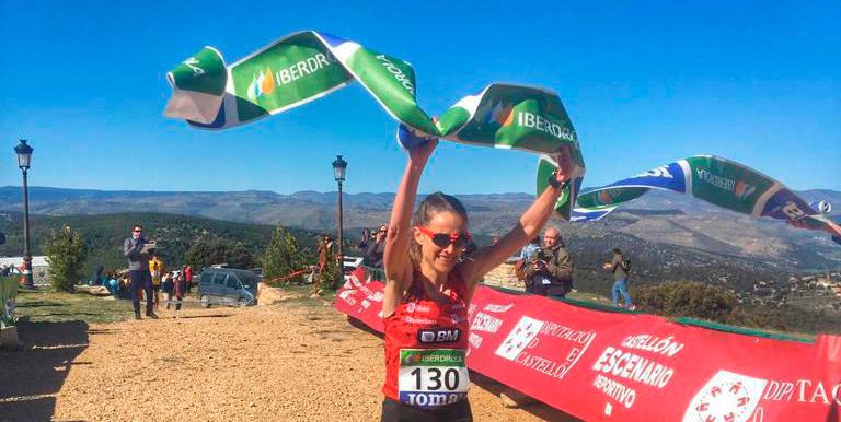 Virginia Pérez, marca de récord en el Bisaurín