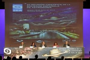 Inauguración XII Reunión Científica de la Sociedad Española de Astronomía.