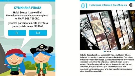 El Museo Marítimo de Bilbao se acerca al visitante a través de su nueva Smartguide