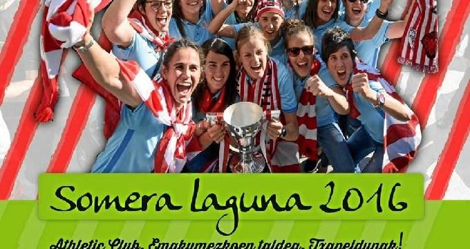 El equipo femenino del Athletic Club de Bilbao recibirá el premio 'Somera Laguna'