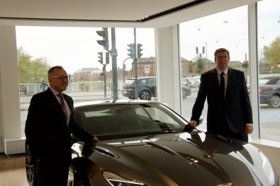 Aston Martin Showroom Launch