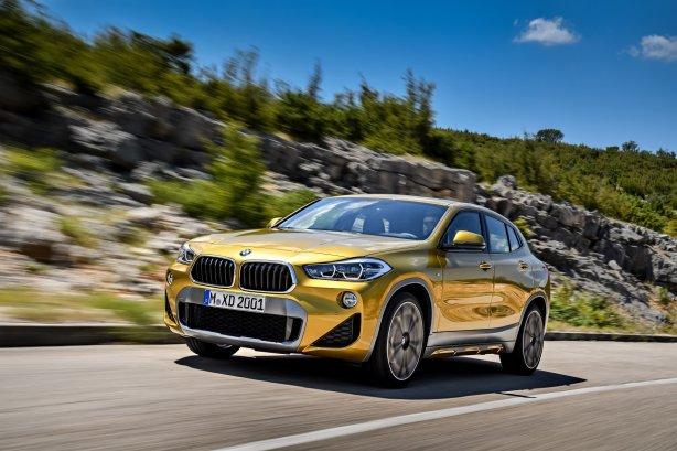 BMW X2 - kørebillede