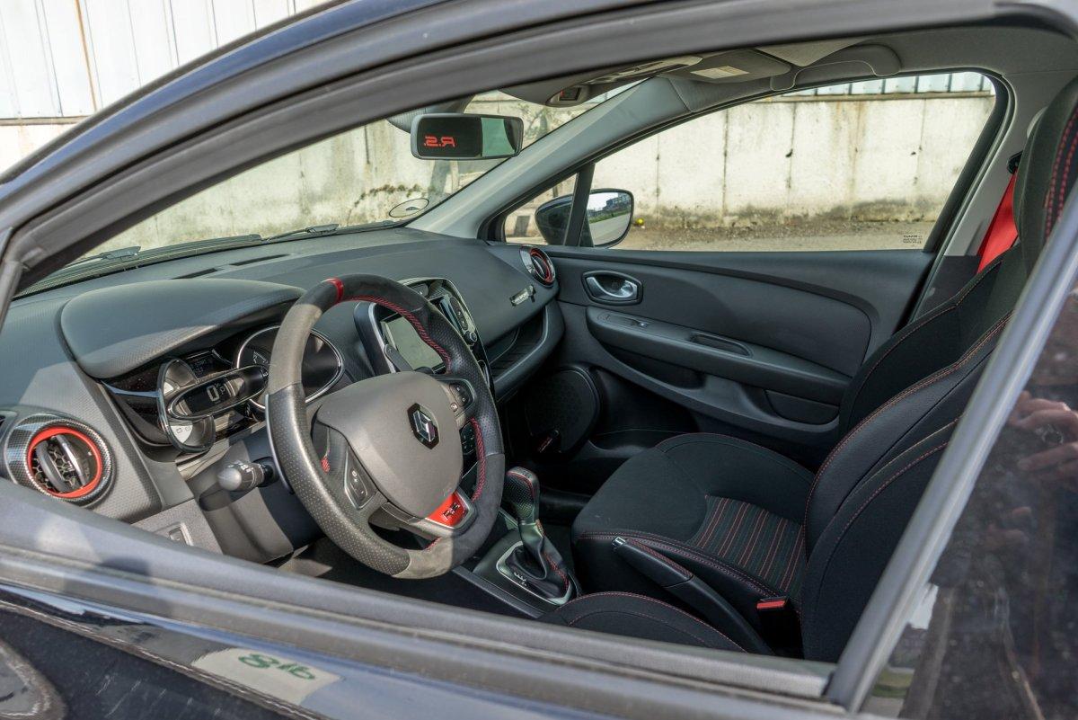 Renault Clio RS interiør