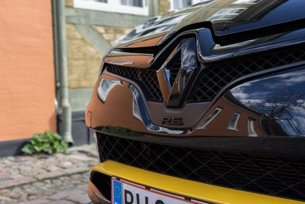 Renault Clio RS kølergrill
