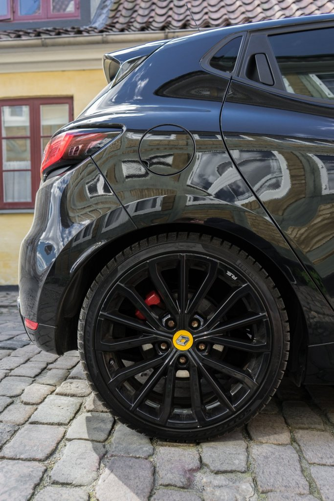Renault Clio RS bagende