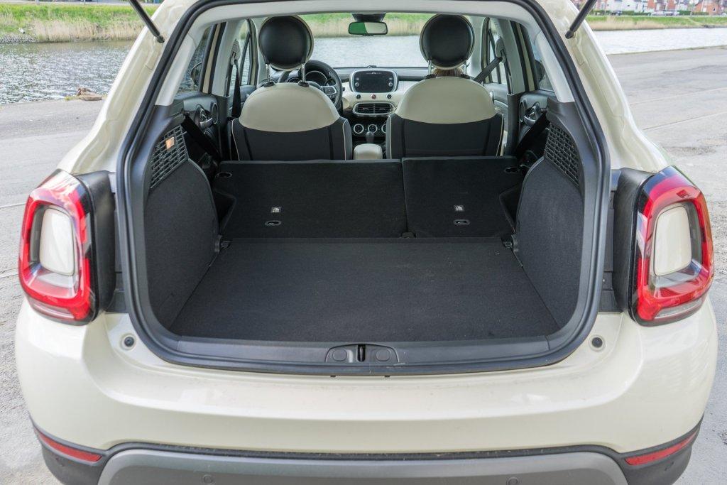 Fiat 500X City Cross bagagerum