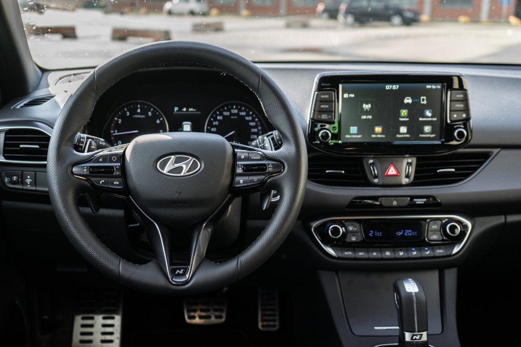 Hyundai i30 N-Line interiør