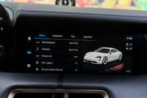 Porsche Taycan bilindstillinger
