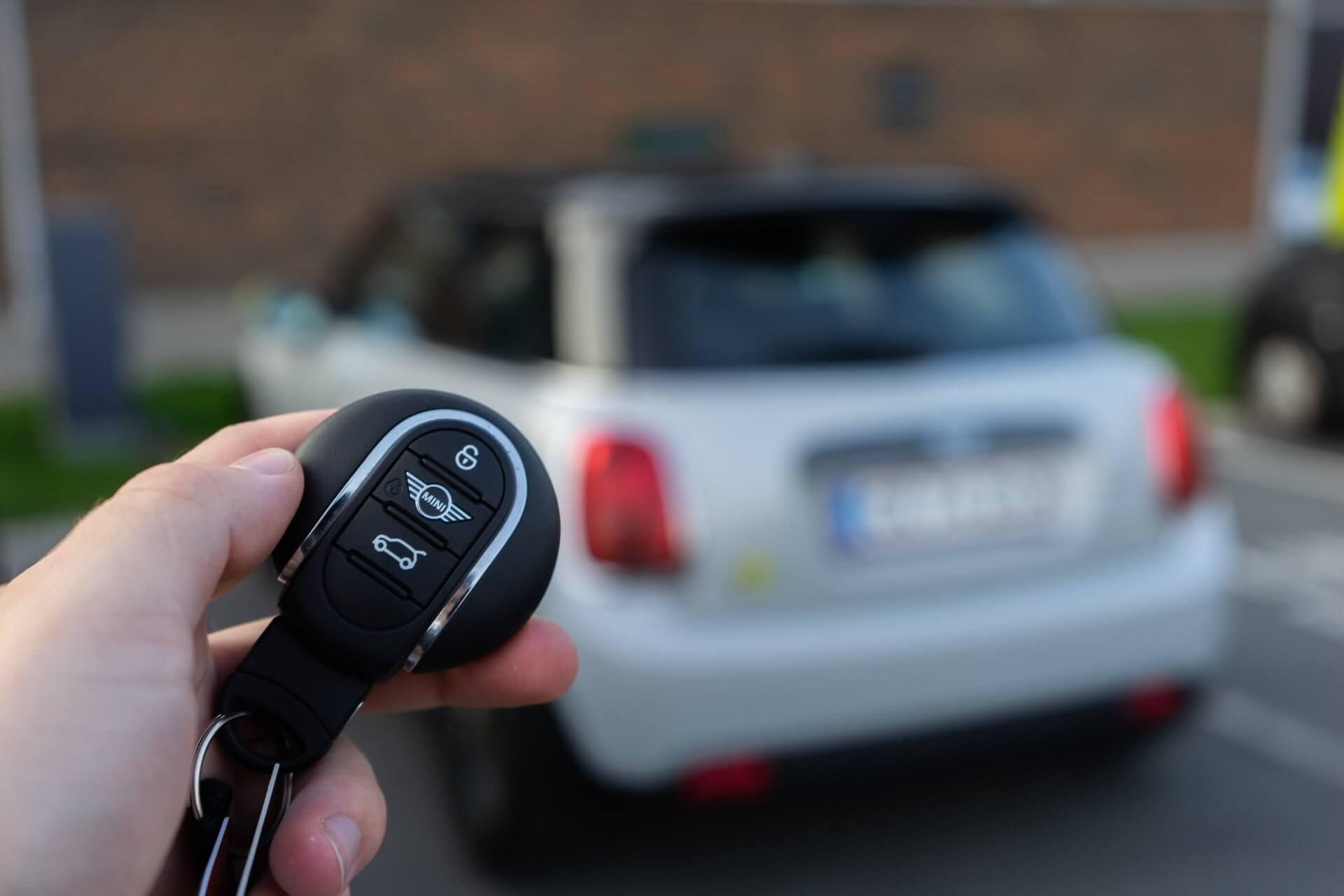 MINI Cooper SE nøgle