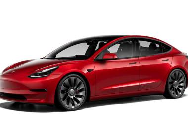Faceliftet Tesla Model 3