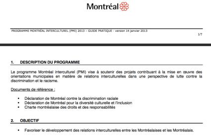 Montreal interculturel