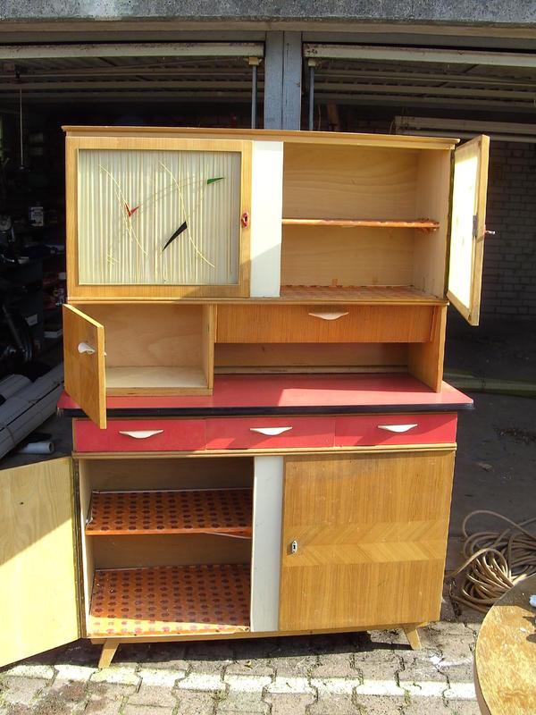 alter Küchenschrank 50er Jahre in Bad Kreuznach - Küchenmöbel, Schränke kaufen und verkaufen