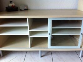 Fernsehtisch Tv Bank IKEA Möbel Magiker Birke hell selten ...