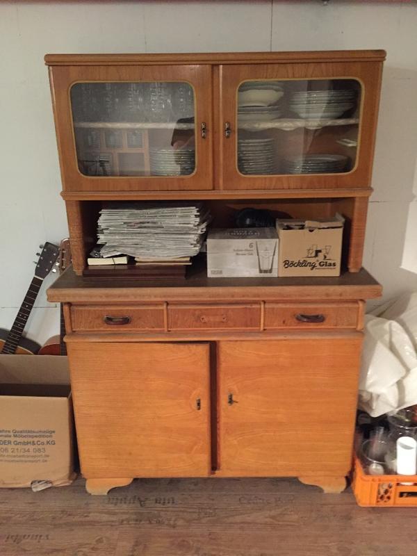 50er Jahre Küchenschrank in Weinheim - Küchenmöbel, Schränke kaufen und verkaufen über private