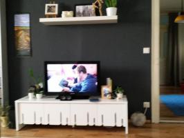 Fernsehtisch Ikea PS 2012 Linie weiß hochwertig TV Tisch ...