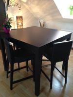 Schöne Essecke in braun/schwarz IKEA BJURSTA/HENRIKSDAL ...