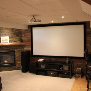 Bildam Home Improvements - Custom Basement Fireplace