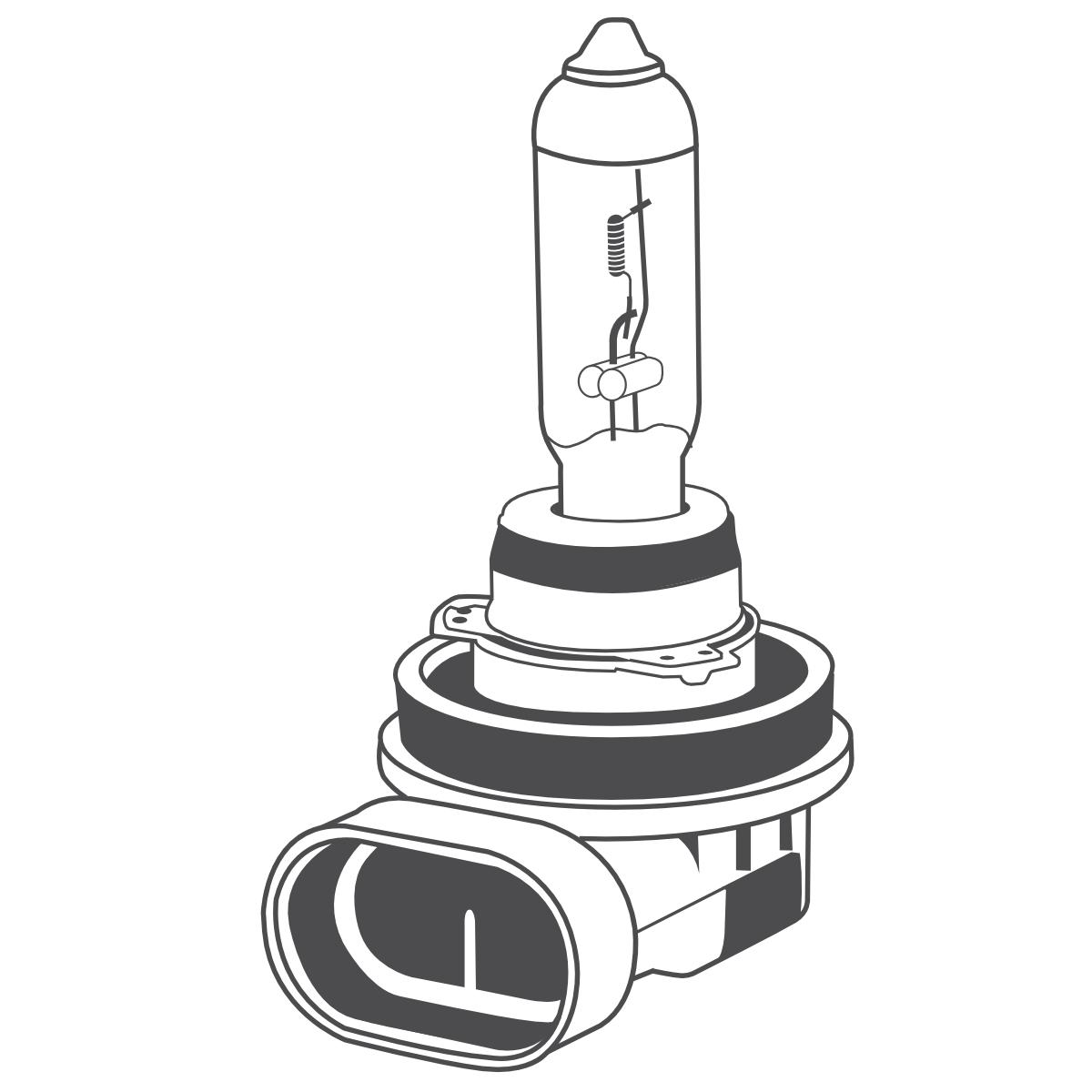 10x Brehma H11 Halogen Lampe 55w 12v Pgj19 2 Gluhlampe Autolampe Gluhbirne