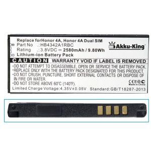 AkkuKing Akku für Huawei SCLL00, SCLL01, SCLL03, SCL