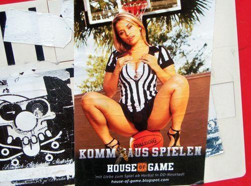 House of Game - Eröffnungsflyer