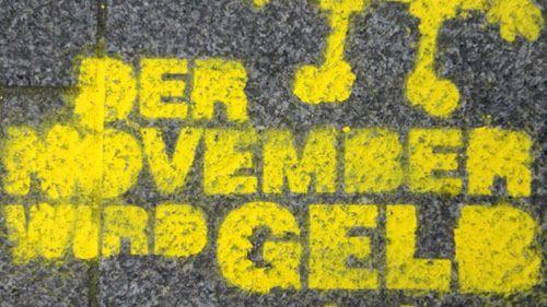 gelb auf der Görlitzer Straße
