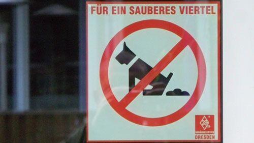 Kacken verboten.