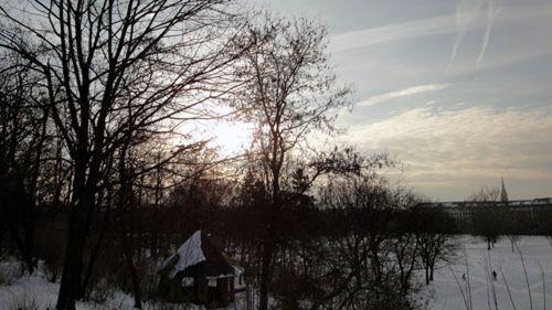 Sonnenfinsternis über dem Alaunplatz