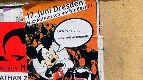 Nazi-Stopp-Demo startet am Albertplatz