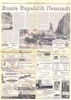 DNN-Sonderveröffentlichung zur Bunten Republik Neustadt 1993, Anklicken zum Vergrößern