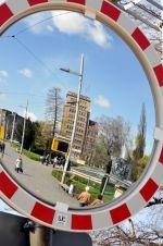 gespiegeltes Hochhaus