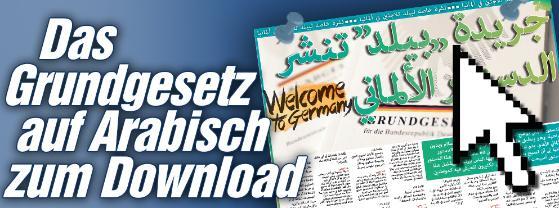 grundgesetz arabisch infografik download info.BILD