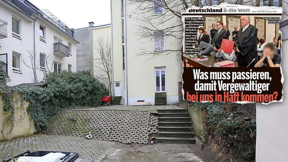 In diesem Haus im Hamburger Stadtteil Harburg wohnte ein Teil der Familie