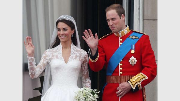 William Kate Nach der Hochzeit ins Cabrio Royals
