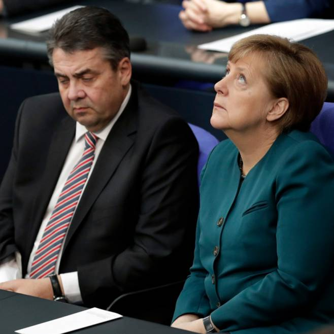 Merkel Gabriel