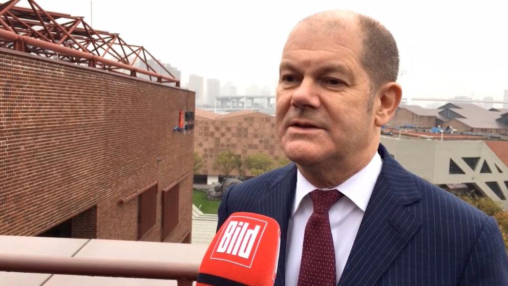 """Germany has had a budget surplus since 2014 and finance minister olaf scholz said wednesday that higher revenues. Olaf Scholz in China 