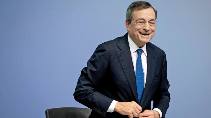 Is he taking on government responsibility in Rome?  Ex-ECB President Mario Draghi