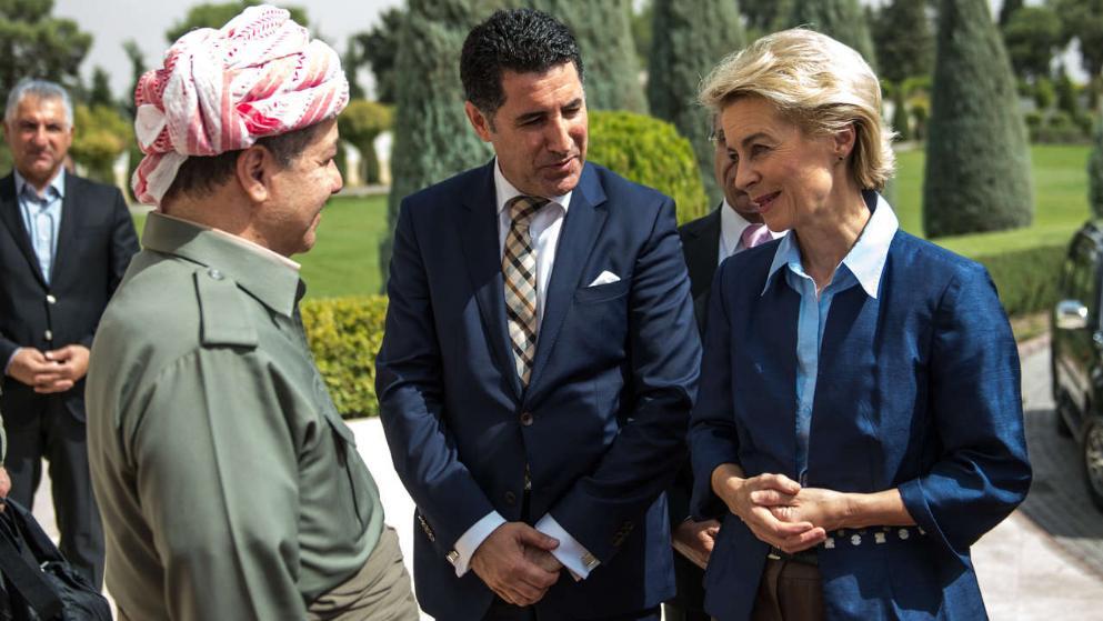 Ursula von der Leyen und Masu Barzani