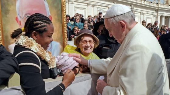 Papst Franziskus, Jersey Vargas