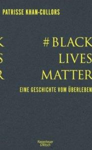 Cover von #BlackLivesMatter. Gelbe Schrift auf grauem Hintergrund.