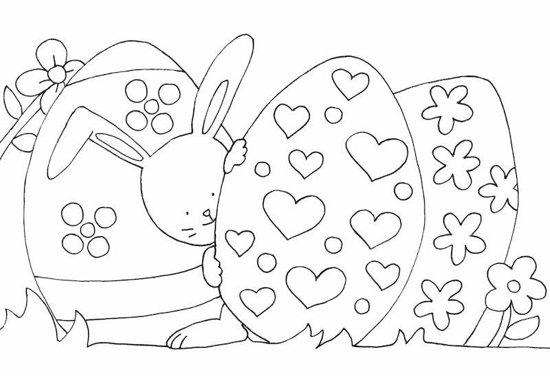 Kleines Malbuch Ostern Kken Hase Osternest Buch