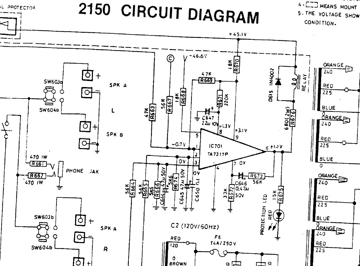 Nad Schematic Detail Protection Circuit