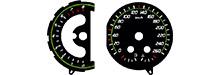 Tachoscheiben Ford  Galaxy MK3 // Mondeo MK4 // S-Max Convers+