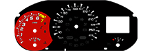 Tachoscheibe / Plasmascheibe Renault Megane 3 RS