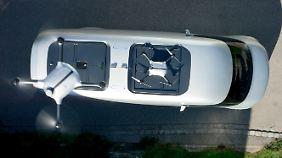 """Mit seinen Drohnen soll der Vision Van vor allem den Lieferverkehr """"auf der letzten Meile"""" revolutionieren."""