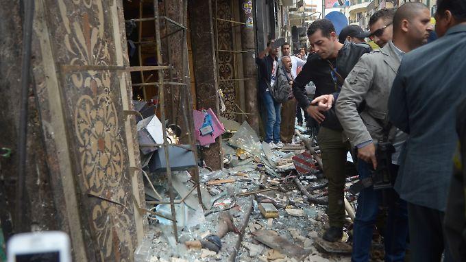 Mehr als 30 Tote: IS-Miliz bekennt sich zu Anschlägen gegen Kopten in Ägypten