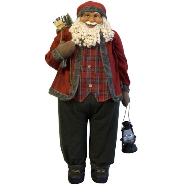 Weihnachtsmann 180cm XXL Deko Nikolaus Santa Clause ...