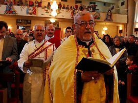 Weihnachtsgottesdienst an Heiligabend in der chaldäischen St.-Joseph-Kirche in Bagdad. Sehr viele Christen haben den Irak in den vergangenen zehn Jahren verlassen.