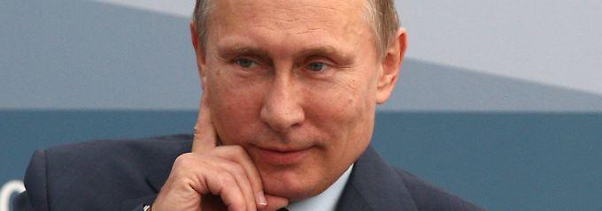 Putin beim G20-Gipfel in Sankt Petersburg. Der russische Präsident will einen US-Angriff auf Syrien verhindern.