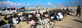 Nebenwirkung des Ägäis-Einsatzes: In Libyen warten 200.000 Flüchtlinge auf Überfahrt