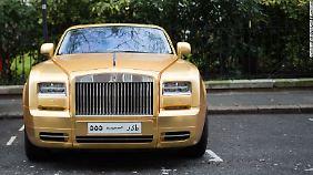 Ob ein Cabrio nicht in der Sonne in Saudi-Arabien besser aufgehoben ist als im Londoner Nieselwetter?